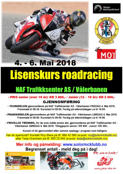0 - Poster lisenskurs 1 - RR 2018