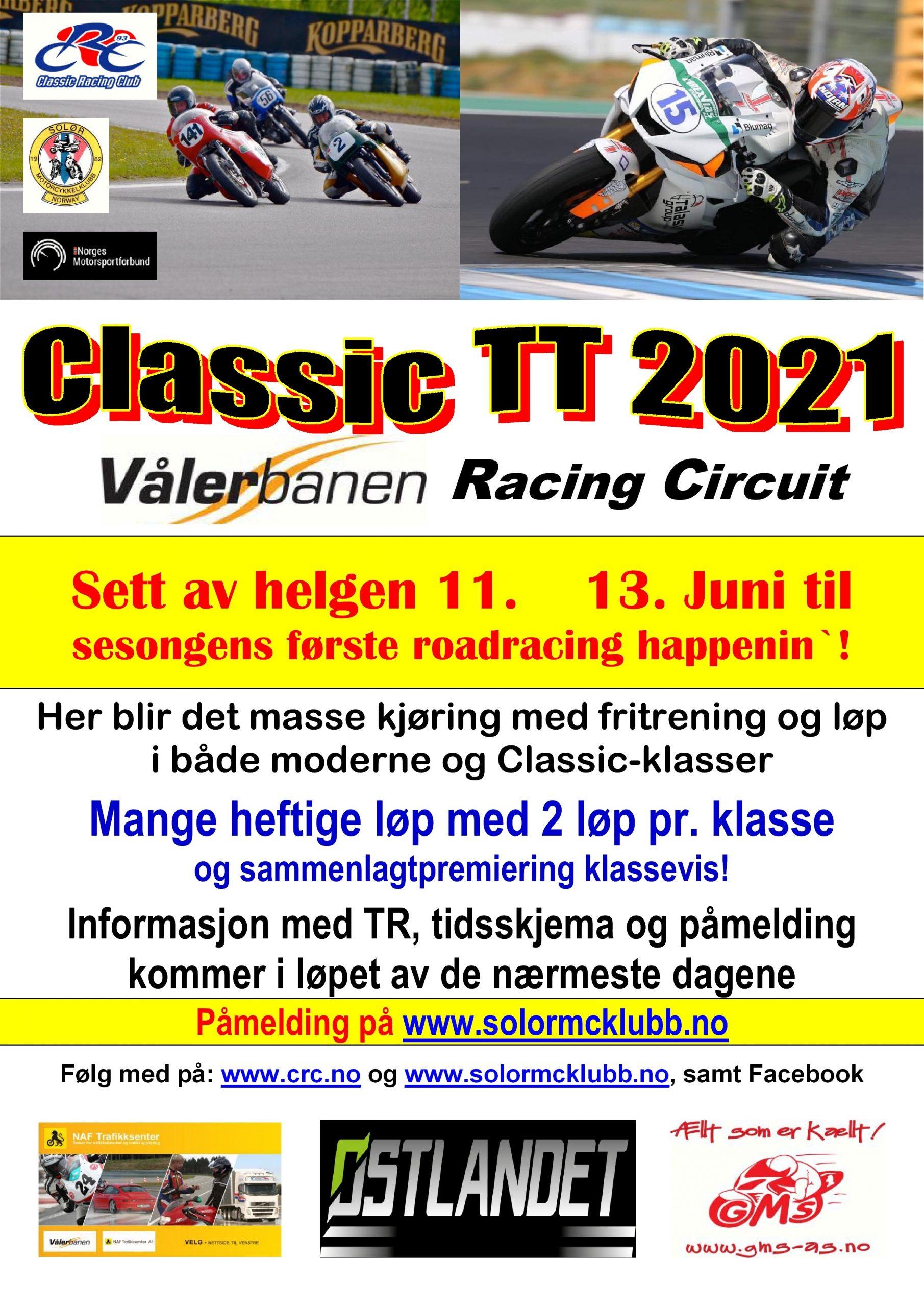 1 - POSTER Classic TT 2021
