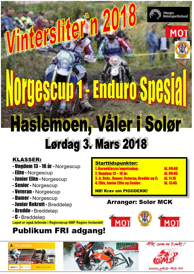 3a - Poster ER VINTERLØP - NC 1 - 2018 - Alt. 2