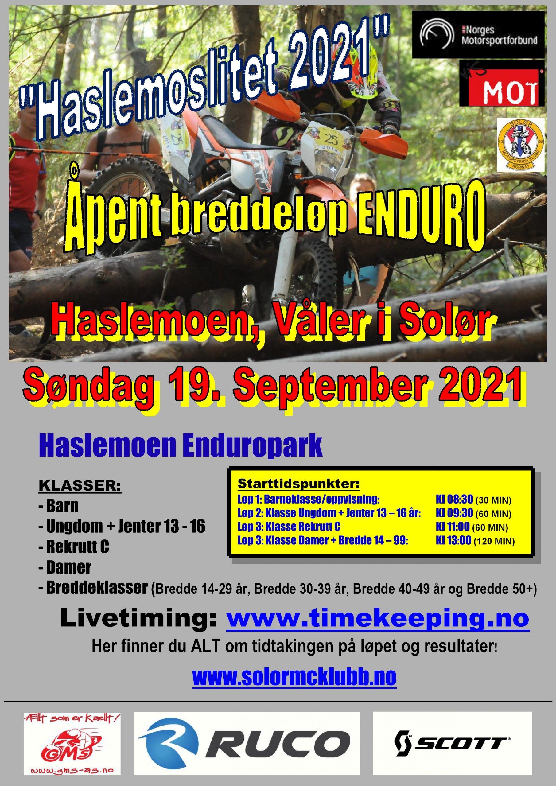 4 - Poster Haslemoslitet 2021 - 19.09.2021
