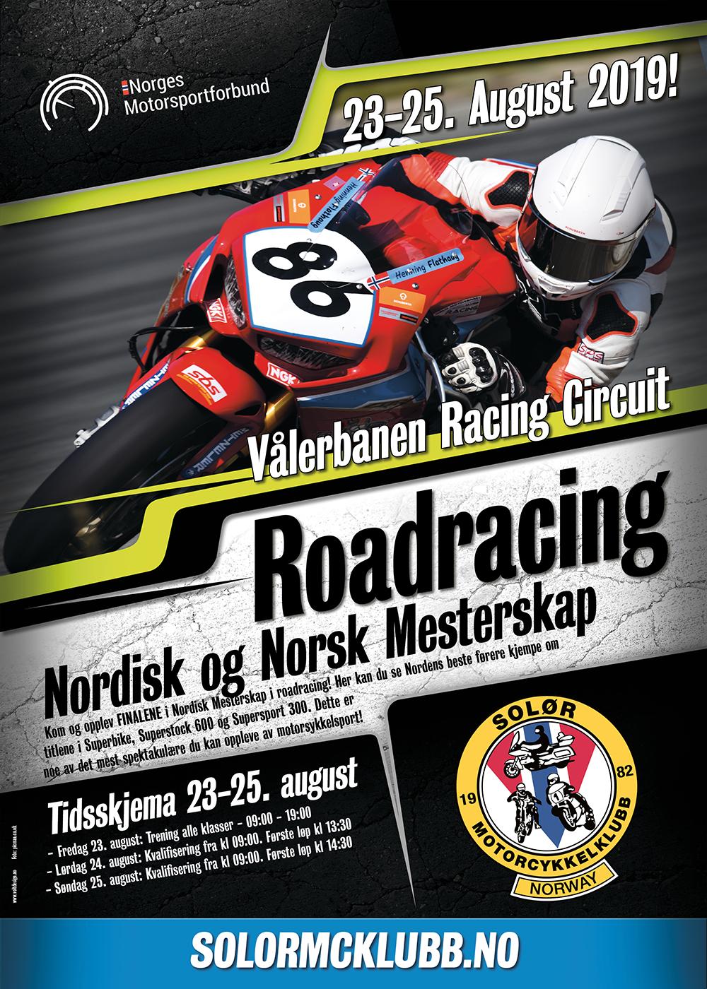 Plakat Nordic Cup Våler 2019
