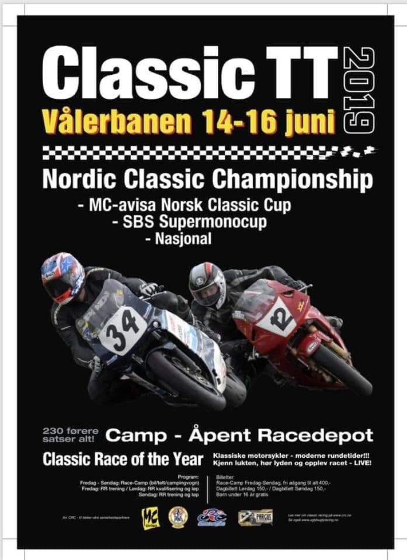 Poster Classic TT 2019