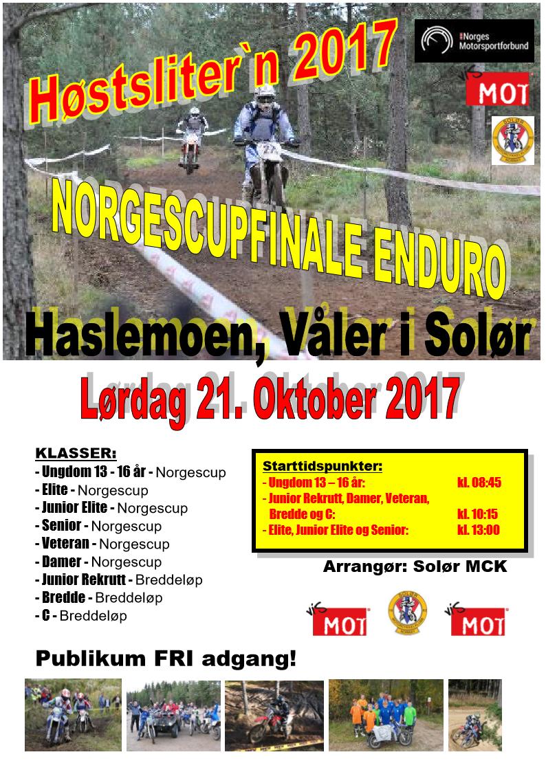 Poster Høstslitern 2017 - Oktober