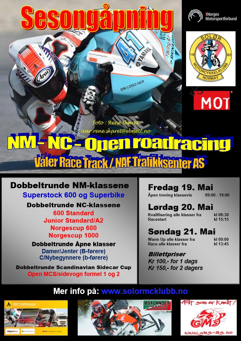 Poster NM-NC Vålerbanen MAI 2017 - Ny 2