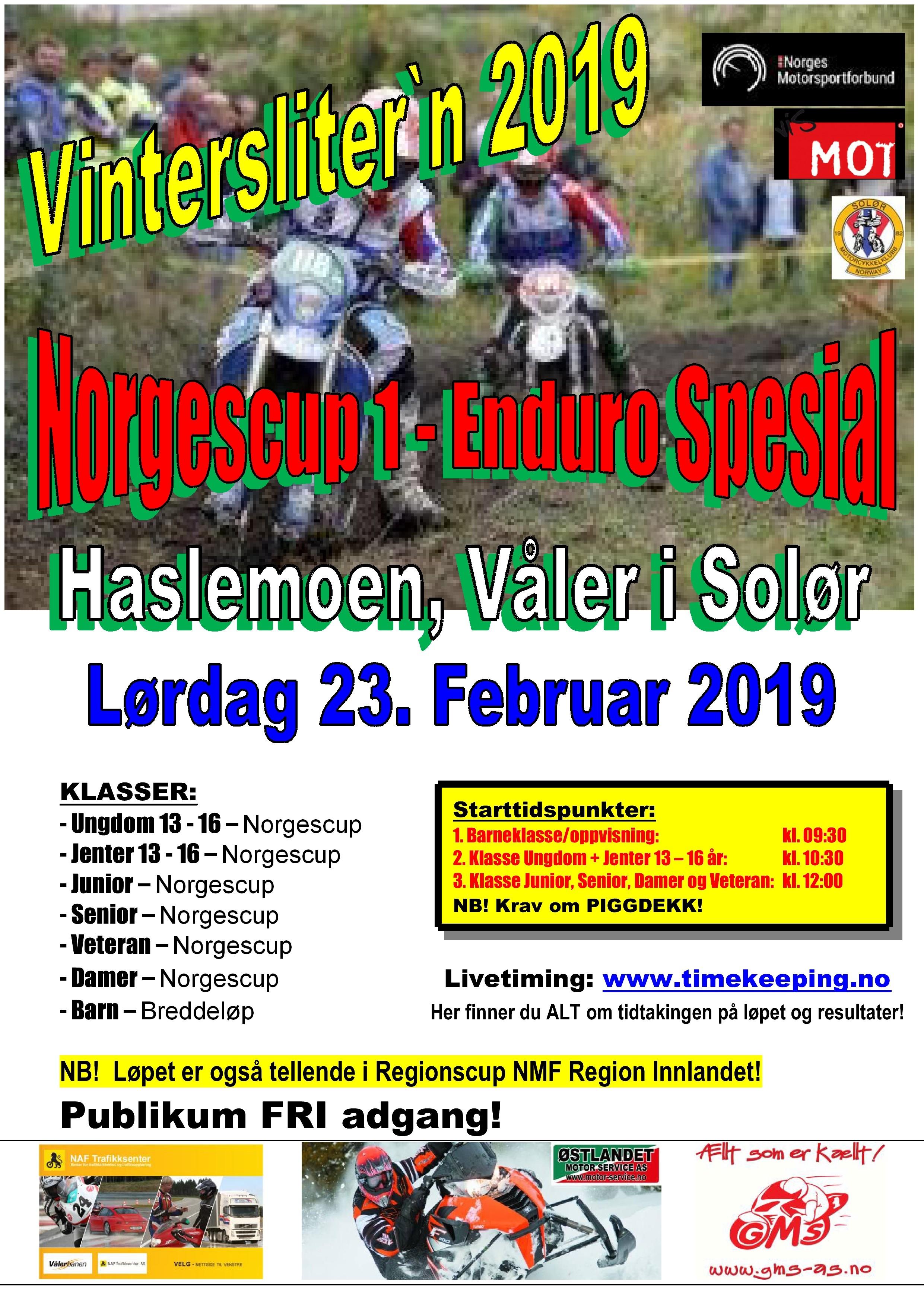 Poster Vinterslitern 2019