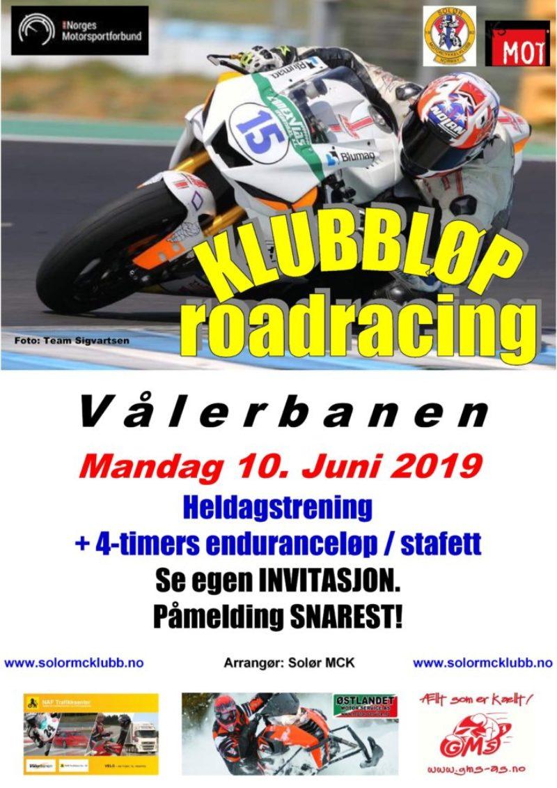 Poster klubbløp 1 - RR 2019